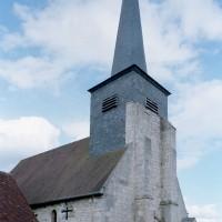 L'église vue du nord-ouest (2009)
