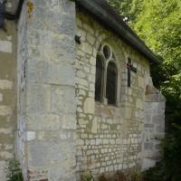 Vue partielle de l'abside depuis le sud (2016)