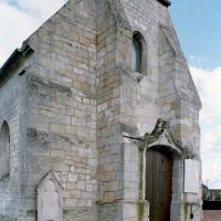 La façade vue du nord-ouest (2008)