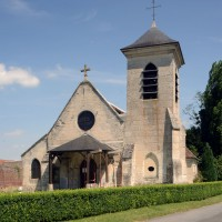 L'église vue de l'ouest (2016)