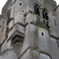 Vue partielle du clocher depuis le nord-ouest (2016)