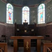 Vue partielle de l'abside vers l'est (2016)