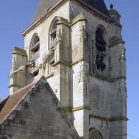 Le clocher vu du nord-est (2016)