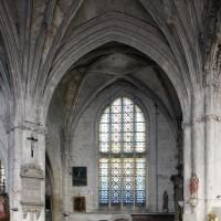 Vue partielle du transept vers le nord (2016)