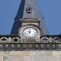 La partie supérieure du clocher vue du sud (2016)