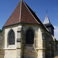 L'église vue du nord-est (2016) (2016)