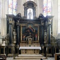 L'autel-retable du choeur (2016)