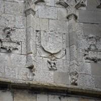 Détail de la face ouest du clocher