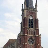 La façade vue du nord-ouest (2016)