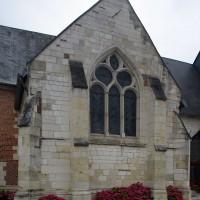 La chapelle nord vue du nord (2016)
