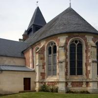 Vue partielle de l'église depuis le sud-est (2016)