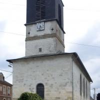 L'église vue du nord-est (2016)