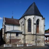 Le choeur et la chapelle sud vus du sud-est (2016)