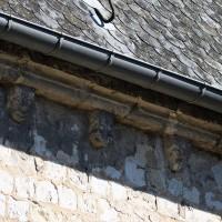 La corniche du mur nord-ouest du choeur (2016)