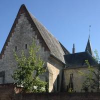 Vue partielle du choeur et de la chapelle nord depuis le nord-ouest (2016)