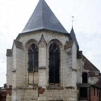L'abside vue de l'est (2016)