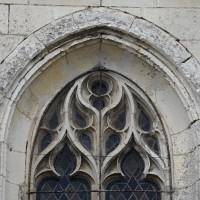 Partie supérieure de la fenêtre du mur sud de l'abside (2016)