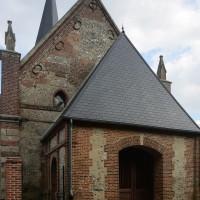La façade ouest vue du nord-ouest (2016)