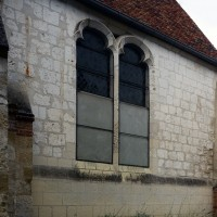 Fenêtre du mur nord du choeur (2016)