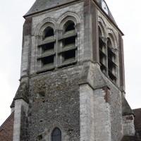 Le clocher vu du nord-ouest (2016)