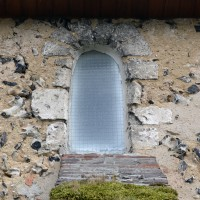 Fenêtre romane de la nef (2016)