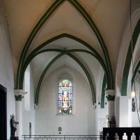 Le choeur du 13ème siècle vu vers l'est (2016)
