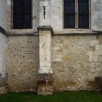 Vue partielle du mur sud du choeur (2016)