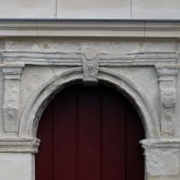 La partie supérieure de la porte sud de la nef (2016)