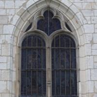 Fenêtre nord du bras nord du transept (2016)