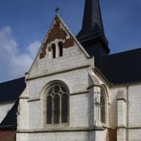 Le bras sud du transept vu du sud-est (2016)