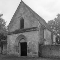 La chapelle vue du sud-ouest (2000)