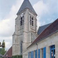 Le clocher vu du sud-est (2009)