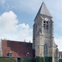 L'église vue du sud-ouest (2009)