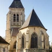 L'église vue de l'est (2018)