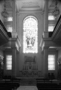 La chapelle vue vers l'est (2000)