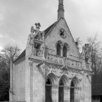 La chapelle vue du nord-ouest (2001)