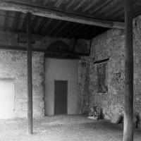 La partie basse de la chapelle vue vers le sud-est (1994)