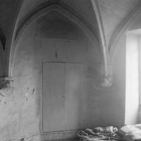 Vue partielle de la chapelle vers le nord-est (1994)