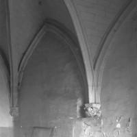 Vue partielle de la chapelle vers le nord-ouest (1994)