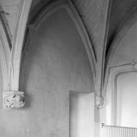 Vue partielle de la chapelle vers le sud-ouest (1994)