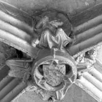 Clef de voûte d'une travée de la nef (2001)