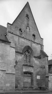 La façade ouest vue du nord-ouest (2001)