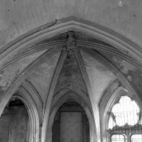 Vue partielle de l'abside vers l'est (2001)