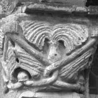 Le chapiteau de gauche du portail (1996)
