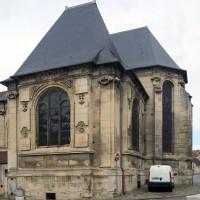 Le choeur et la chapelle sud vus du sud-est (2017)