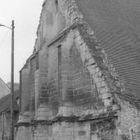 Le mur-pignon de la grange dimière (1992)