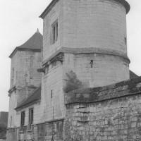 Les tours de Fécamp vue du sud-est (1992)