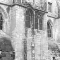 L'extérieur de la chaire du lecteur du réfectoire sur l'aile nord (1992)