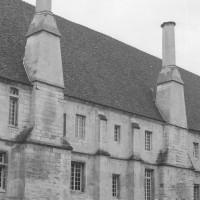 Vue partielle de l'aile ouest depuis le nord-ouest (1992)