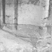 Mouluration d'une baie de la salle capitulaire (1992)